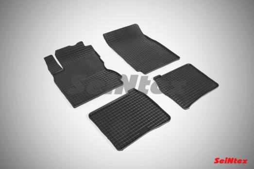 Резиновые ковры сетка в салон для Nissan Note (2005-2014)