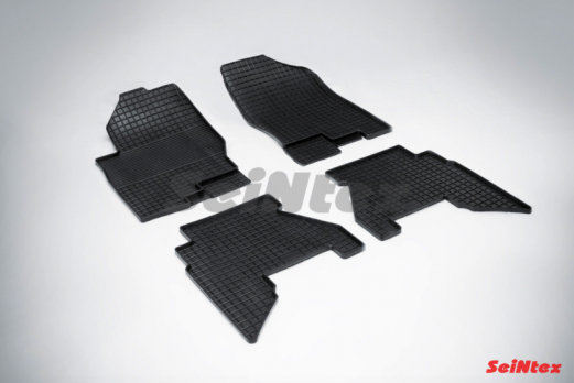 Резиновые ковры сетка в салон для Nissan Pathfinder III (2004-2014)