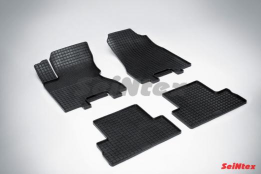 Резиновые ковры сетка в салон для Nissan X-Trail T31 (2007-2015)