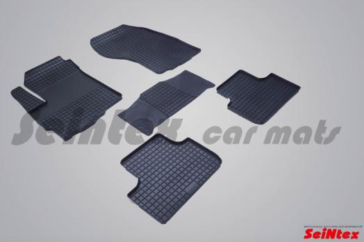 Резиновые ковры сетка в салон для Mitsubishi ASX (2017-н.в.)