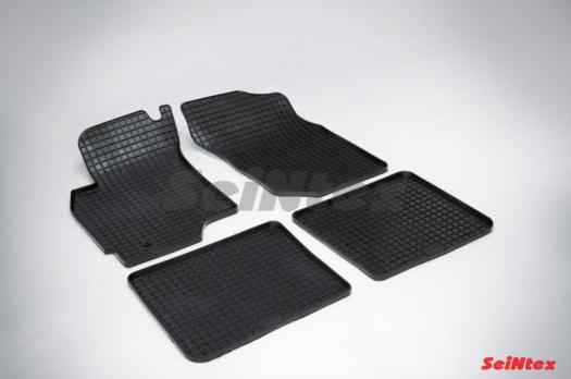 Резиновые ковры сетка в салон для Mitsubishi Lancer IX (2003-2012)
