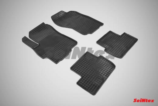 Резиновые ковры сетка в салон для Mitsubishi Lancer X (2007-2012)