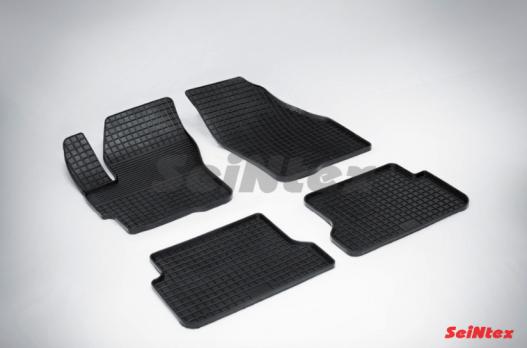Резиновые ковры сетка в салон для Mazda 3 (2003-2010)