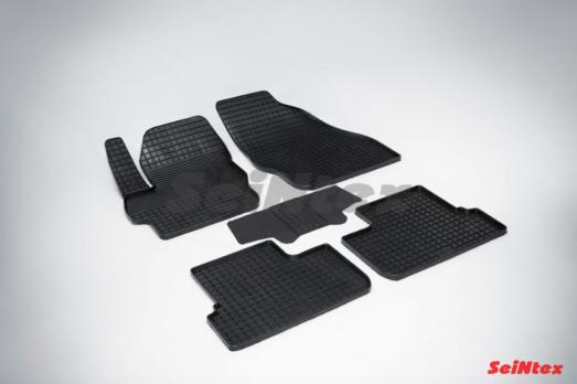 Резиновые ковры сетка в салон для Mazda 3 (2010-2013)