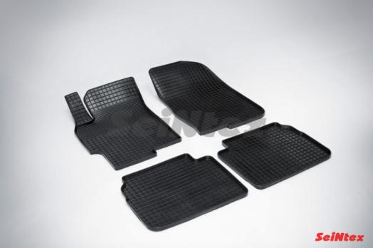 Резиновые ковры сетка в салон для Mazda 6 (2008-2013)