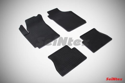 Резиновые ковры сетка в салон для KIA Picanto I (2004-2011)