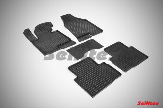 Резиновые ковры сетка в салон для KIA Sportage III (2010-2015)